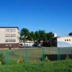 Szkoła od strony ulicy Świeckiej